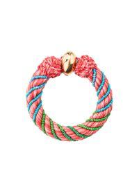 Aurelie Bidermann | Pink Maya 10 Mm Bracelet | Lyst