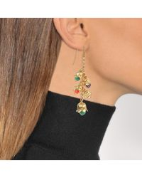 Aurelie Bidermann - Metallic Lily Of The Valley Pendant Earrings - Lyst