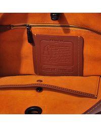 COACH - Brown Duffle Bag In Glovetan Leather - Lyst