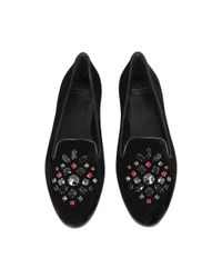 Church's - Black Neve Crystal Slipper - Lyst