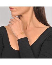 Ginette NY - Metallic Monogramme Bracelet - Lyst