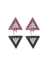 Joanna Laura Constantine | Metallic Earjacket Americana Earrings | Lyst