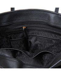 MICHAEL Michael Kors - Black Zip Jet Set Travel Tote - Lyst