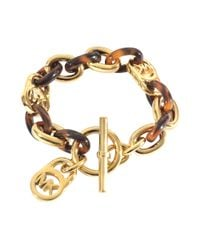 MICHAEL Michael Kors - Metallic Armband Heritage - Lyst