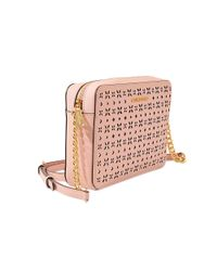MICHAEL Michael Kors - Pink Jet Set Travel Lg Ew Crossbody - Lyst