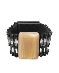 Marni | Black Resin Bracelet | Lyst
