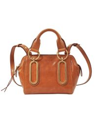 See By Chloé   Brown Small Paige Shoulder Bag   Lyst