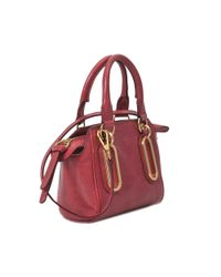 See By Chloé - Red Paige Mini Bag - Lyst