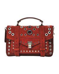 Proenza Schouler   Red Ps1 Medium Bag   Lyst
