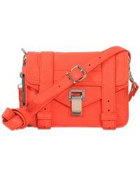 Proenza Schouler | Multicolor Ps1 Mini Crossbody Lux Leather Bag | Lyst