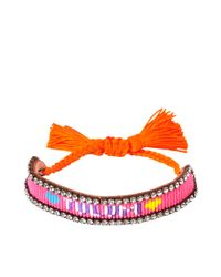 Shourouk | Pink Tulum Bracelet | Lyst
