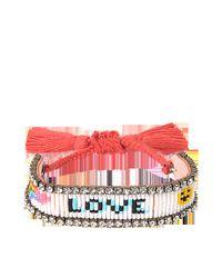Shourouk | Multicolor Love Rainbow Bracelet | Lyst