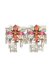 Shourouk | Isis Small Pink Earrings | Lyst