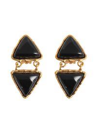 Sylvia Toledano | Black Triangles Earrings | Lyst