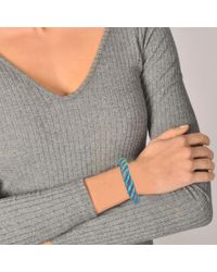 Aurelie Bidermann - Blue Maya 10 Mm Bracelet - Lyst