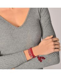 Shourouk - Red Blabla Bracelet - Lyst