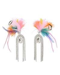 Shourouk - Multicolor Bouquet Final Earrings - Lyst