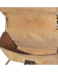 Jimmy Choo - Brown Lockett Petite Bag In Spazzolato Leather - Lyst