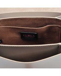 Furla - Gray Elisir Mini Crossbody Bag - Lyst