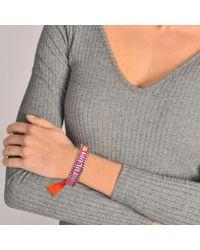 Shourouk - Pink Bracelet tulum - Lyst