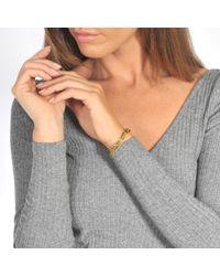 Vanessa Tugendhaft - Metallic Bracelet shapes or blanc et diamants - Lyst