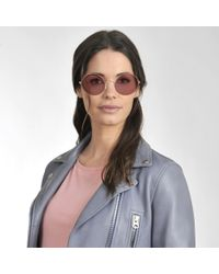 Ray-Ban - 0rb3592 Sunglasses In Pink Metal And Acetate - Lyst