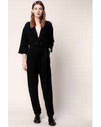 941c09c452cb Lyst - American Vintage Jumpsuit in Black
