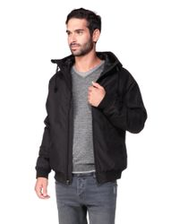 Volcom | Black Quilted Jacket | Lyst