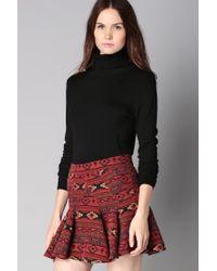 BCBGeneration | Red Mini Skirt | Lyst