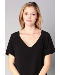 Chanael K - Pink Necklace / Longcollar - Lyst