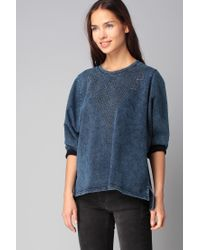 Volcom | Blue Sweatshirt | Lyst