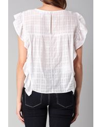 BCBGeneration - White Top - Lyst