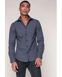 Ben Sherman | Blue Long Sleeve Shirt for Men | Lyst