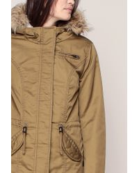 ONLY - Brown Trench - Lyst