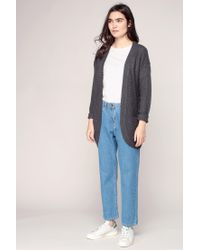 ONLY - Gray Cardigans - Lyst