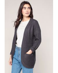 ONLY | Gray Cardigans | Lyst