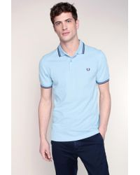 Fred Perry | Blue Polo Shirt for Men | Lyst