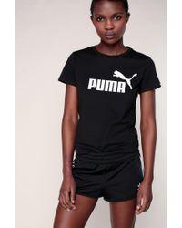 PUMA | Black T-shirts & Polo Shirts | Lyst