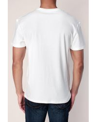Jack & Jones - White T-shirt for Men - Lyst