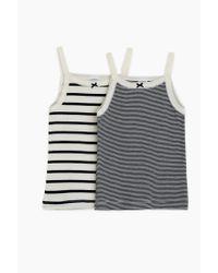 Petit Bateau | White T-shirt & Tank Top | Lyst