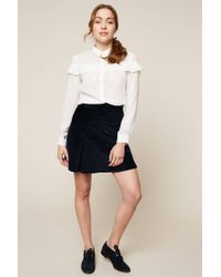 MAX&Co. - White Oversized Blouses - Lyst
