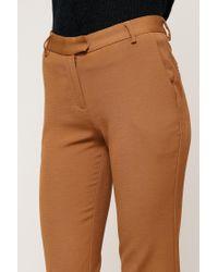 See U Soon - Brown 7/8-length Trouser - Lyst