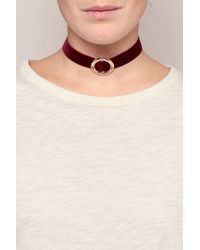 Chanael K - Red Chokers - Lyst