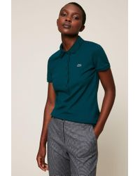7a9825bd Lyst - Lacoste T-shirts & Polo Shirts in Green