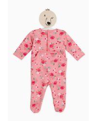 Petit Bateau | Pink Pyjama And Nightdresse | Lyst