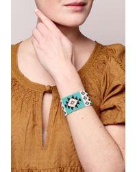 Pieces - Blue Bracelet - Lyst