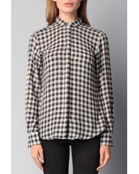 Hartford - Gray Shirt / Blouse - Lyst