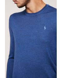 Polo Ralph Lauren - Blue Sweater & Cardigan for Men - Lyst