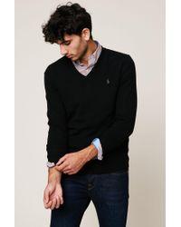 Polo Ralph Lauren - Black Sweater & Cardigan for Men - Lyst