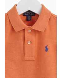 Polo Ralph Lauren | Orange Shirts / T-shirts & Polo Shirts for Men | Lyst